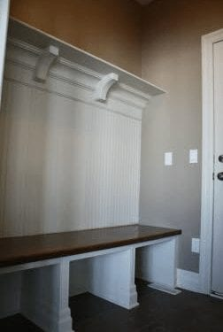 Entry hall bench